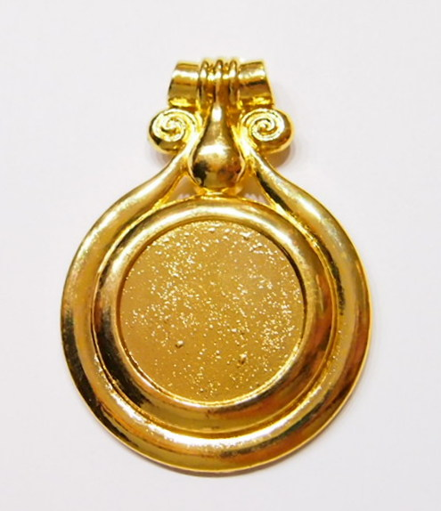 4 of 30 mm round gold pendant settings very nice pleasant memories 4 of 30 mm round gold pendant settings very nice aloadofball Choice Image